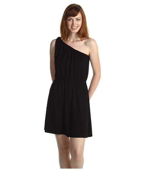Rochii Michael Stars - One Shoulder Twist Strap Dress - Black