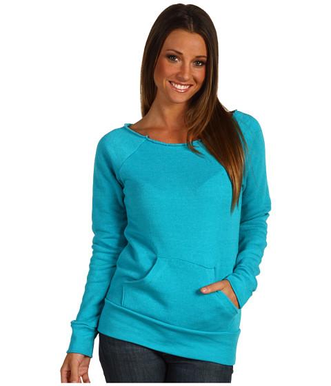 Bluze Alternative Apparel - The Maniac Eco-Fleece Sweatshirt - Eco True Teal