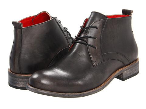 Ghete Steve Madden - Bruklyn - Black Leather