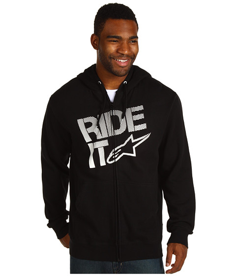 Bluze Alpinestars - Ride It Tech Zip-Up Hoodie - Black