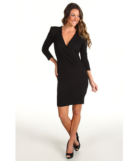 Rochii French Connection - Sweetheart Stretch Dress 71KO8 - Black
