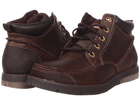 Ghete SKECHERS - Kane - Maken - Brown