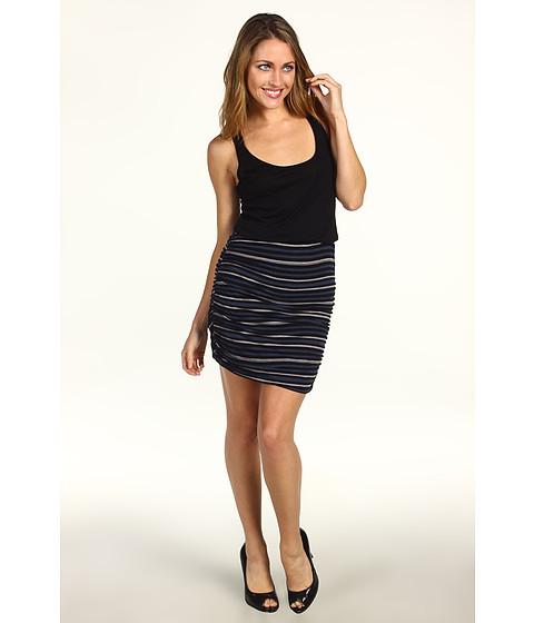 Rochii Splendid - Capeside Stripe Dress - Black