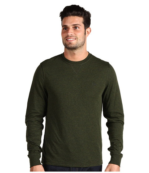 Bluze Original Penguin - Bernado Supersoft Reversible Brushed Cotton Crew Tee - Miliary Green