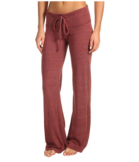 Pantaloni Alternative Apparel - Eco-Heather Long Pant - Eco True Burgundy