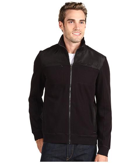 Jachete Calvin Klein - French Rib L/S Full Zip Jacket - Black