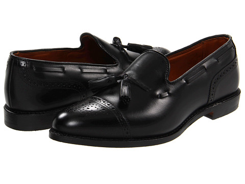 Pantofi Allen-Edmonds - Jermyn - Black Custom Calf