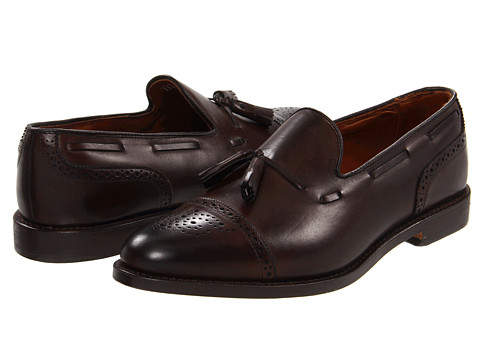 Pantofi Allen-Edmonds - Jermyn - Brown Burnished Calf