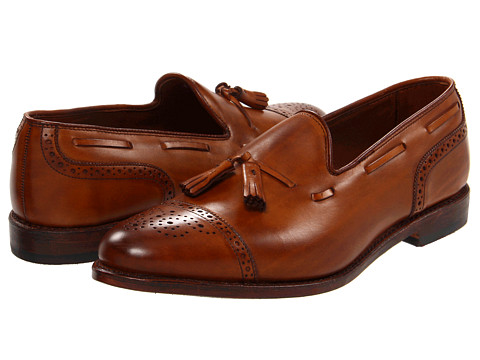 Pantofi Allen-Edmonds - Jermyn - Walnut Burnished Calf