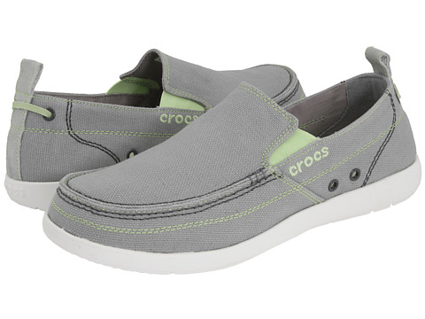 Pantofi Crocs - Walu - Light Grey/White