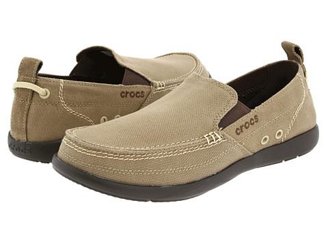 Pantofi Crocs - Walu - Khaki/Espresso