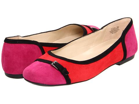 Balerini Anne Klein - Plural - Red/Pink/Black