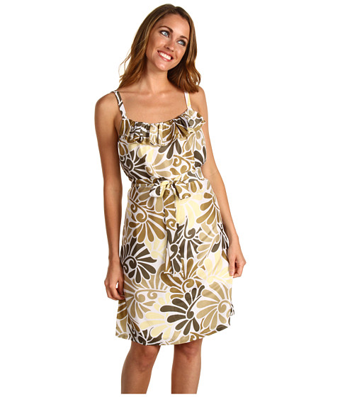 Rochii Tommy Bahama - Fontainebleau Dress - Olive Grey
