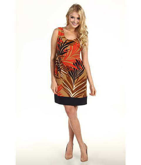 Rochii Donna Morgan - Sleeveless Side Tie Dress - Toast