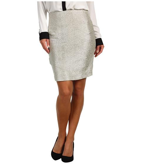 Pantaloni BCBGeneration - Textured Pull-On Skirt - Silver