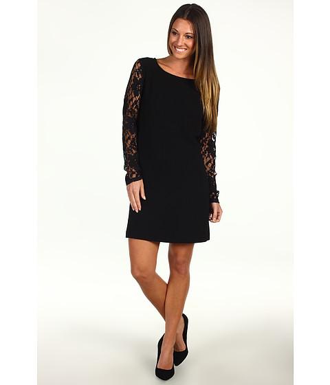 Rochii BCBGeneration - Contrast Sleeve Shift Dress - Black