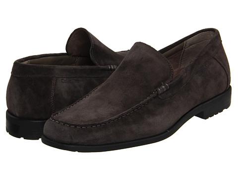 Pantofi Calvin Klein - Kyle - Dark Charcoal Suede