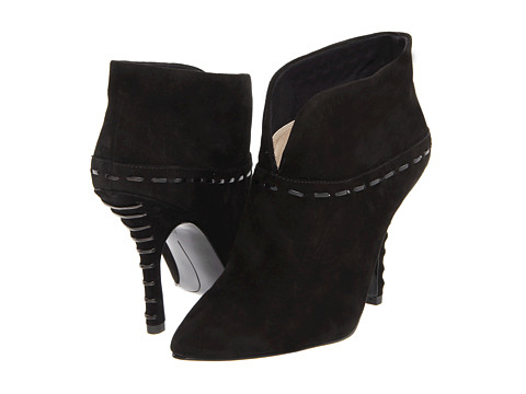 Cizme Nine West - Beenthinkn - Black/Black Suede