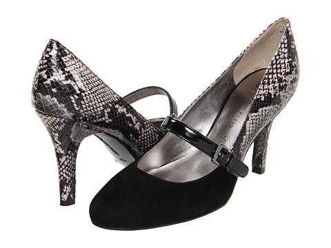 Pantofi Anne Klein - Pancho - Black/Black Multi