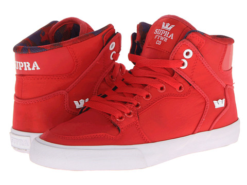 Adidasi Supra - Vaider - Red/White