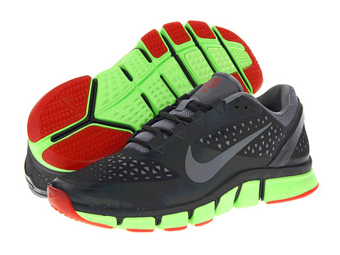 Adidasi Nike - Free Trainer 7.0 - Anthracite/Electric Green/Challenge Red/Cool Grey
