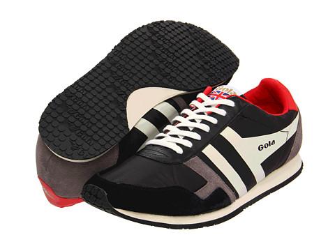 Adidasi Gola - Spirit - Black/Red/Ecru