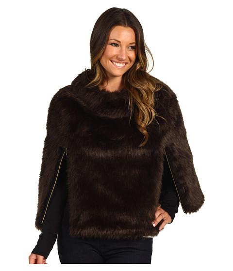 Jachete Juicy Couture - Faux Fur Cape - Chestnut