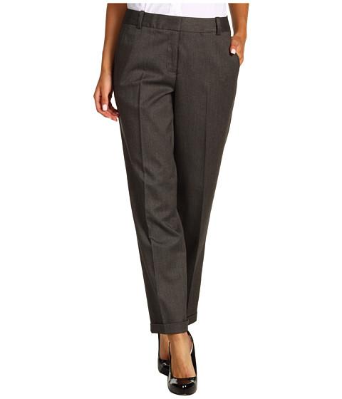 Pantaloni Calvin Klein - Pindot Crop Cuff Pant - Black/Bisque
