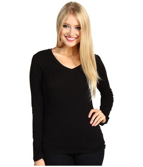 Bluze Gabriella Rocha - Jenelle V-Neck Top - Black