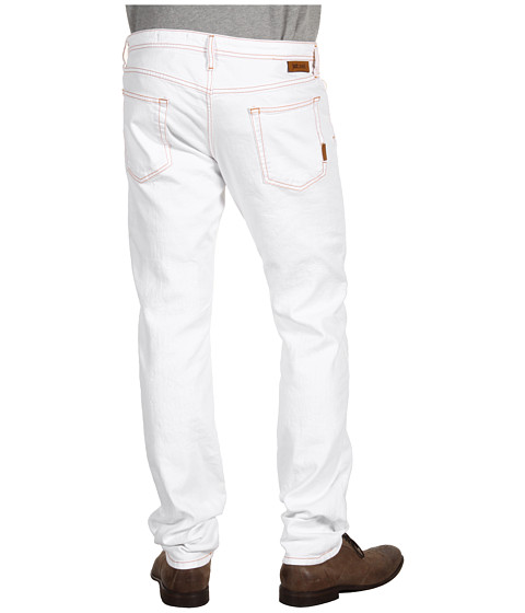 Blugi Just Cavalli - White Straight Leg Jean - White