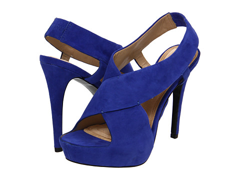 Sandale Diane Von Furstenberg - Zia II - Royal Blue Suede