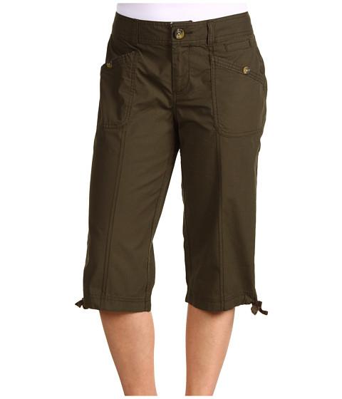Pantaloni Dockers - Petite Poplin Capri - Olive Branch