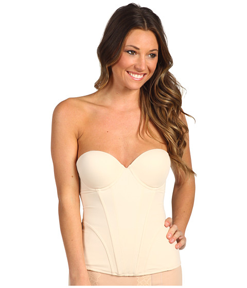 Lenjerie Christin Michaels - Adire Caress Bustier - Nude