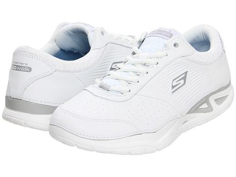 Adidasi SKECHERS - GOwalk - Elite - White/Silver