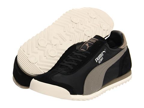 Adidasi PUMA - Roma Slim Nylon - Black/Brindle/Birch