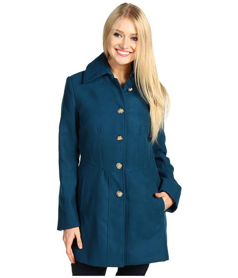 Jachete Jessica Simpson - Faux Wool SB Coat - Dark Teal