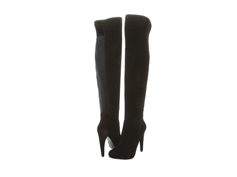 Cizme Nine West - Chriscross - Black/Black Suede
