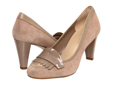 Pantofi Cole Haan - Braiden High Loafer - Maple Sugar Suede