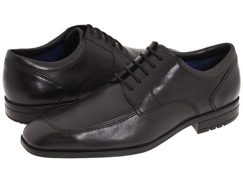 Pantofi Rockport - Fairwood Maccullum - Black Leather