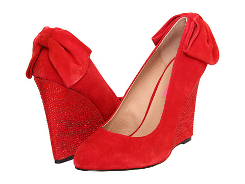 Pantofi Betsey Johnson - Chhance - Red Suede
