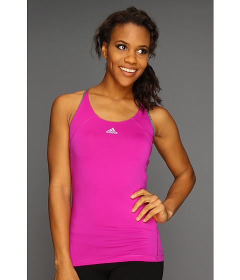 Tricouri adidas - TECHFITâ⢠Tank Top - Vivid Pink/Dark Grey Heather