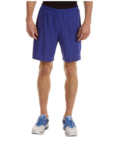 Pantaloni Nike - Seven-Inch SW 2-IN-1 Short (S) - Hyper Blue/Wolf Grey/Volt/Reflective Silver
