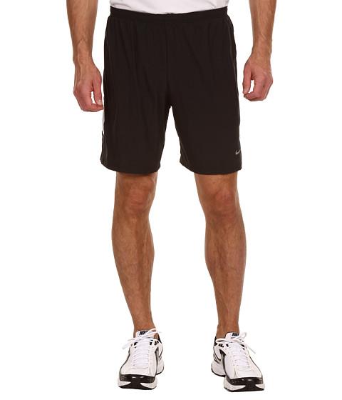 Pantaloni Nike - Seven-Inch SW 2-IN-1 Short (S) - Black/White/Black/Reflective Silver