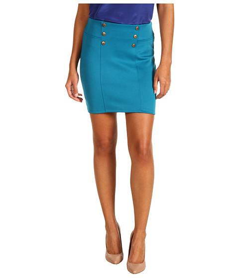 Pantaloni Gabriella Rocha - Sande Button Waist Skirt - Teal