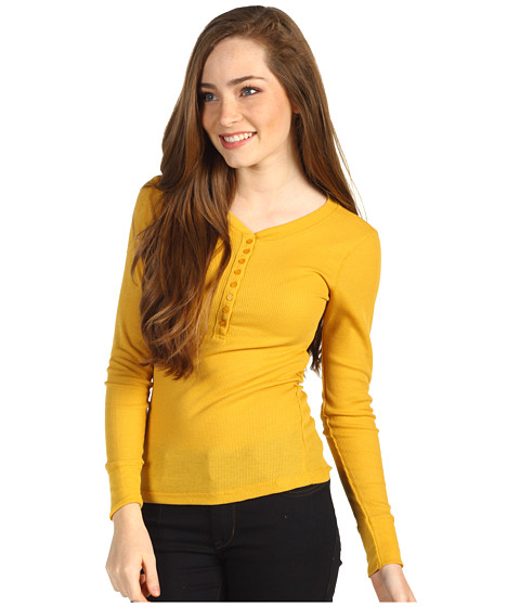 Bluze Gabriella Rocha - Ela Thermal Top - Yellow