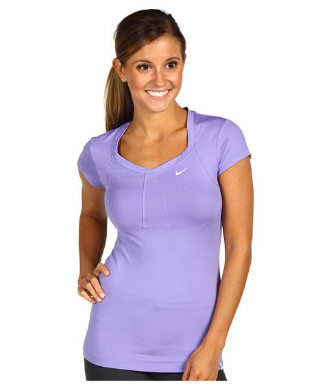Tricouri Nike - S/S Jersey Top - Medium Violet/White