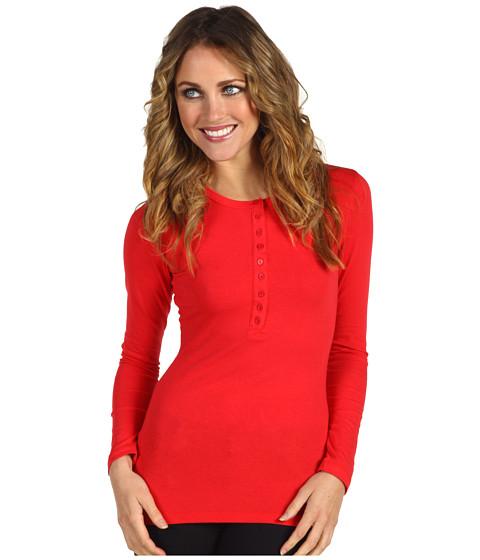 Bluze Gabriella Rocha - Tiff Henley Top - Red