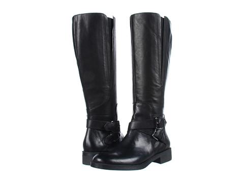 Cizme Enzo Angiolini - Scarly Wide Calf - Black Leather