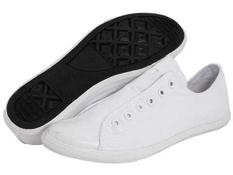 Adidasi Converse - Chuck Taylor® All Star® Seasonal Slip Ox - White/White