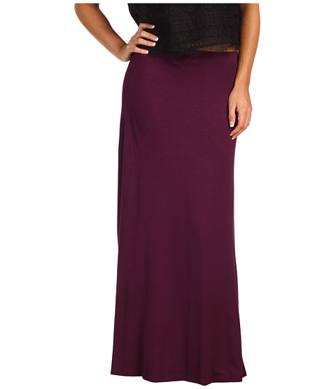 Fuste Christin Michaels - Tali Maxi Skirt - Eggplant